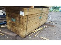 Brown Reclaimed Railway Sleepers -New