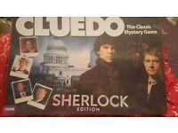 Sherlock Cluedo, BRAND NEW! //Board Game// Xmas Present//