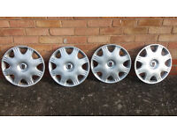 Set of 4 Rover Wheel Trims