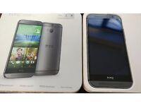 HTC one M8 16GB Grey good condition.