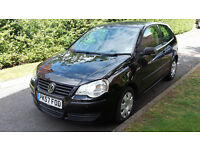2007 VW POLO 1.2 PETROL ONE OWNER,LOW MILEAGE,FULL VW DEALER SERVICE HISTORY