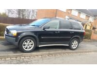 2006 Volvo XC90 D5 Geartronic Automatic 7 seater Black 185 BHP MPV SUV Tow Bar