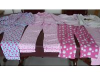 4 pairs of pyjamas. Fit age 7-9.