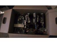 box of computer stuff