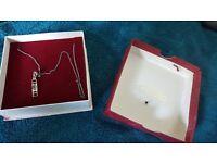 Real silvet necklace 925, H.Samuel