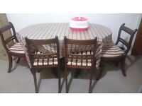 House clearance sofa set dining table and display unit