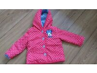 Cute MINNIE Mouse Coat, 12-18 Months