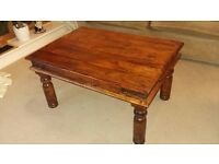 Solid wooden coffee table- £15