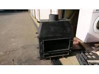 Wood burner - double doors DIY project