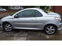 PEUGEOT 206CC CONVERTABLE HARD TOP