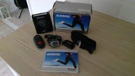 POLAR RS200SD sports running watch kit plus stopwatch