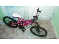 Muddy fox full suspension mountain bike