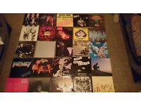 Rock, Punk & Electronic Vinyl LP Record Collection
