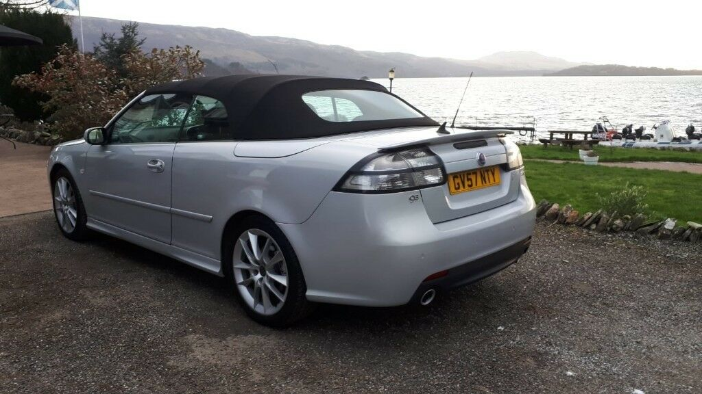 Saab Aero 9 3 Convertible 2 8 V6 Only One In Scotland