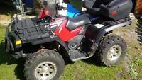 Polaris Sportsman 800 ATV with Trailer - VTT avec Remorque