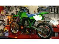 Kawasaki kx 100 1990 motocross
