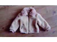 River island wool bomber jacket