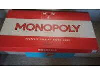 Monopoly, Dingbats and Give Us A Clue Board Games