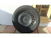Goodyear Eagle NCT5 205/55 R16 91V part worn tyre in good condition on steel wheel