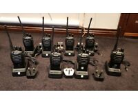 8 x Retevis H-777 walkie talkies