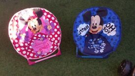 Minnie Mouse & Mickey Mouse folding chairs