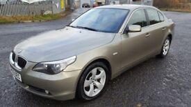 bmw 525d MANUAL 6 SPEED DIESEL SALOON- PARKING SENSOR NICE CLEAN CAR GOOD DRIVE