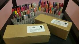 Nail art stands