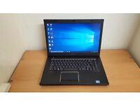 Fast Dell Laptop Core i3-2350M Windows 10 Office 6GB RAM 500GB HDD Wifi