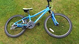 "Boys Mountain Bike Barracuda 24"" wheels"