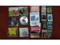 Joblot Welsh music cds and audio cassettes