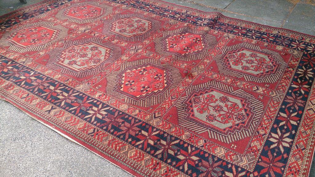 Vintage Prado Orient Persian Wool Rug 11ft X 8ft