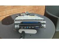 Radio cd sat navigation pop up screen