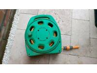 Hozelock 15m garden patio hose in reel