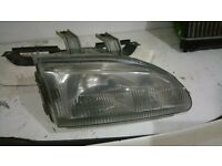 OS Drivers side JDM Plastic Honda Civic Headlight