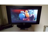 "27"" Samsung digital TV (include remote & power cable)"