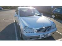 Mercedes C 240 low mileage. Automatic. Long MOT