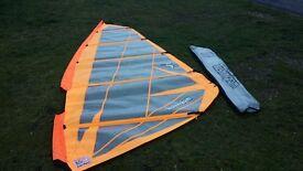 Tushingham 5.7m Series 5 windsurfer sail