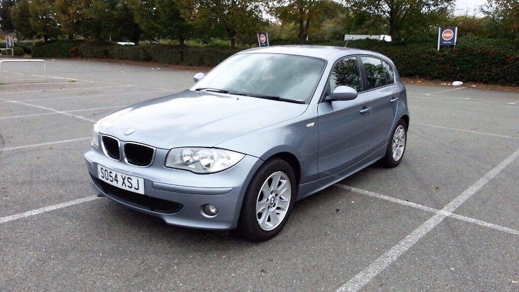 BMW 1 SERIES 120 2.0D SE 5 DOORS HATCHBACK FULL SERVICE HISTORY 2005