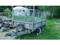 Ifor Williams LM125 full caged trailer
