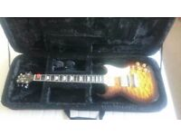 Greg Bennett Torino TR2 Sunburst Vintage + amp + armadillo case + accessories + tuner + book + strap