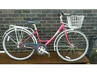 Ladies town bike HYBRID (Raleigh Caprice) 17 inch medium frame