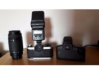 canon EA-1 program and canon EOS 1000f