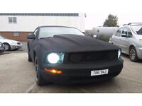 FORD MUSTANG GT 4.0 SUPERCHARGED X-CHARGER COWL HOOD 11 MONTHS MOT SONY DVD SYSTEM