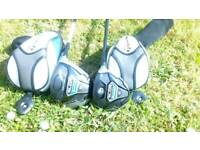 Taylormade sldr 5 wood and driver