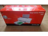 Brand new Lexmark easy colour printer