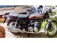 Honda cb550 1979 black. Good original and unrestored condition years mot
