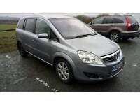 Vauxhall Zafira 1.9 CDTi Elite 5dr 6 speed automatic, (147php) done 64088 miles, full leather
