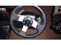 Logitech G27 Wheel + Pedals and Shifter Great Condition