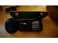 Renner skateboard and SFR pad set