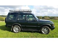 LAND ROVER TD5 GS MODEL 2003 EPSOM GREEN 7 SEATS